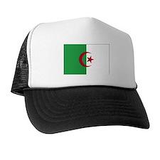 Algeria Flag Map Trucker Hat