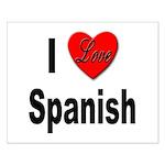 I Love Spanish Small Poster