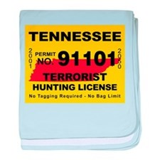 Tennessee Terrorist Hunting L Infant Blanket
