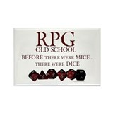 RPG Old School Rectangle Magnet