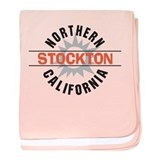 Stockton California Infant Blanket
