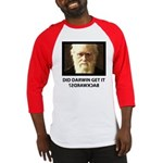 ID Darwin Backwards Baseball Jersey
