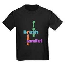 Brush Floss Rinse Smile T