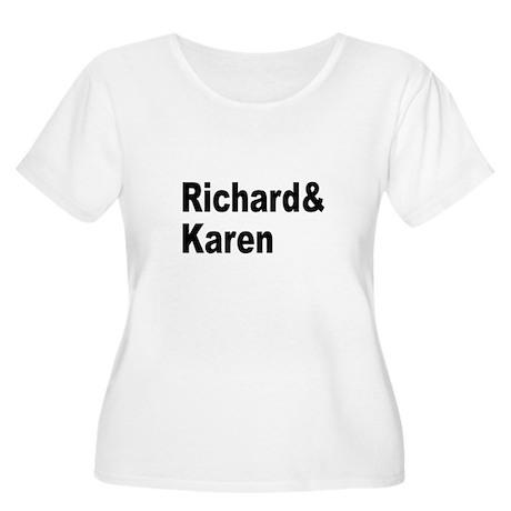 New Section Women's Plus Size Scoop Neck T-Shirt