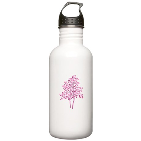 pink tree Stainless Water Bottle 1.0L