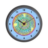 <b>CRYSTAL MANDALA SERIES:</b> Crystal Wall Clock