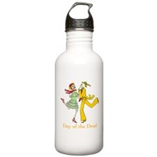 Day of the Dead Couple Water Bottle