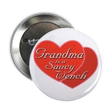 Saucy Grandma Button