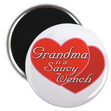 Saucy Grandma Magnet