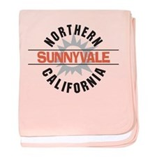 Sunnyvale California Infant Blanket