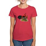 Phoenix BB Red Chickens Women's Dark T-Shirt