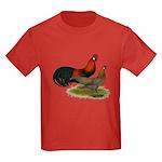 Phoenix BB Red Chickens Kids Dark T-Shirt