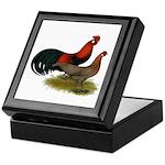 Phoenix BB Red Chickens Keepsake Box