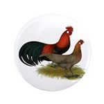 """Phoenix BB Red Chickens 3.5"""" Button (100 pack"""