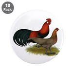 """Phoenix BB Red Chickens 3.5"""" Button (10 pack)"""