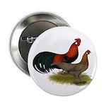 """Phoenix BB Red Chickens 2.25"""" Button"""