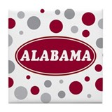 Celebrate Alabama Tile Coaster