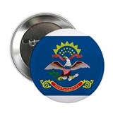 "North Dakota State Flag 2.25"" Button (10 pack)"