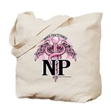 Nurse Practitioner Caduceus P Tote Bag