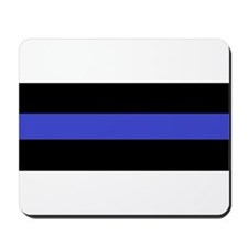 Police Officer Thin Blue Line Mousepad