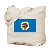 Minnesota State Flag Tote Bag