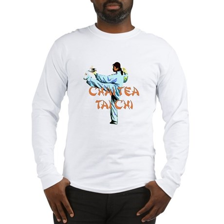 Chai Tea Tai Chi Long Sleeve T-Shirt