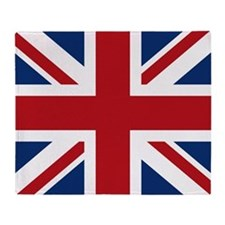 United Kingdom Union Jack Flag Throw Blanket