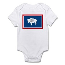 Wyoming Flag Infant Creeper