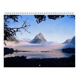 South Island New Zealand Wall Calendar