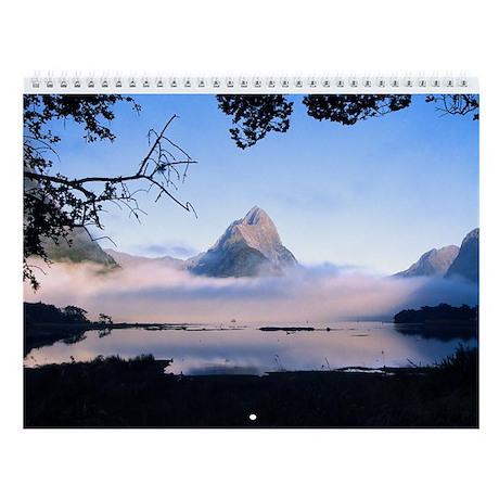 South Island New Zealand Wall Calendar