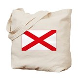 Alabama Flag Tote Bag