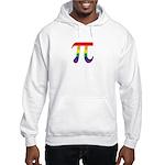 Rainbow Pi Symbol Hooded Sweatshirt