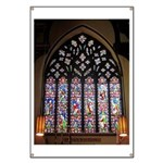 West Stained Glass Window Banner