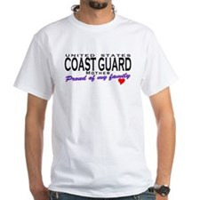 Coast Guard Family Mom Shirt