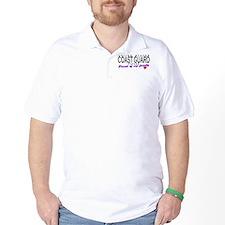Proud Coast Guard Dad T-Shirt