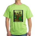 Magic Lands Design #2 Green T-Shirt