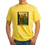 Magic Lands Design #2 Yellow T-Shirt