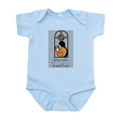 Jesus Was Breastfed Infant Creeper