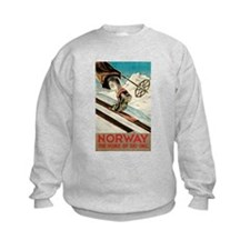 Norway The Home Of Skiing Sweatshirt