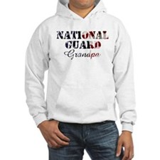 National Guard Grandpa Flag Hoodie