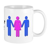 Cool Threesome Mug