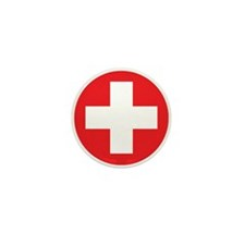 Original Red Cross Mini Button (10 pack)