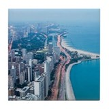 Lake Shore Drive Tile Coaster