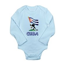 CUBA Long Sleeve Infant Bodysuit