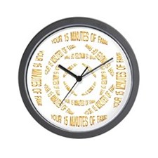 "<b>SERIES G:</b>""Your 15 Minutes of Fame"" W. Clock"