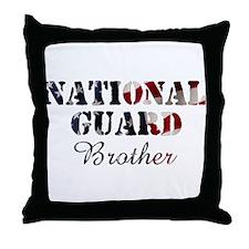 NG Brother Flag Throw Pillow