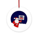 Anti-Republican Santa Claus Xmas Ornament
