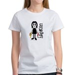 Broken Goth Doll Women's T-Shirt