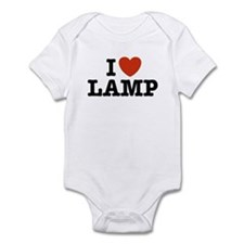 I Love Lamp Infant Creeper