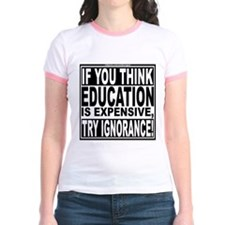 Education quote (Warning Label) T